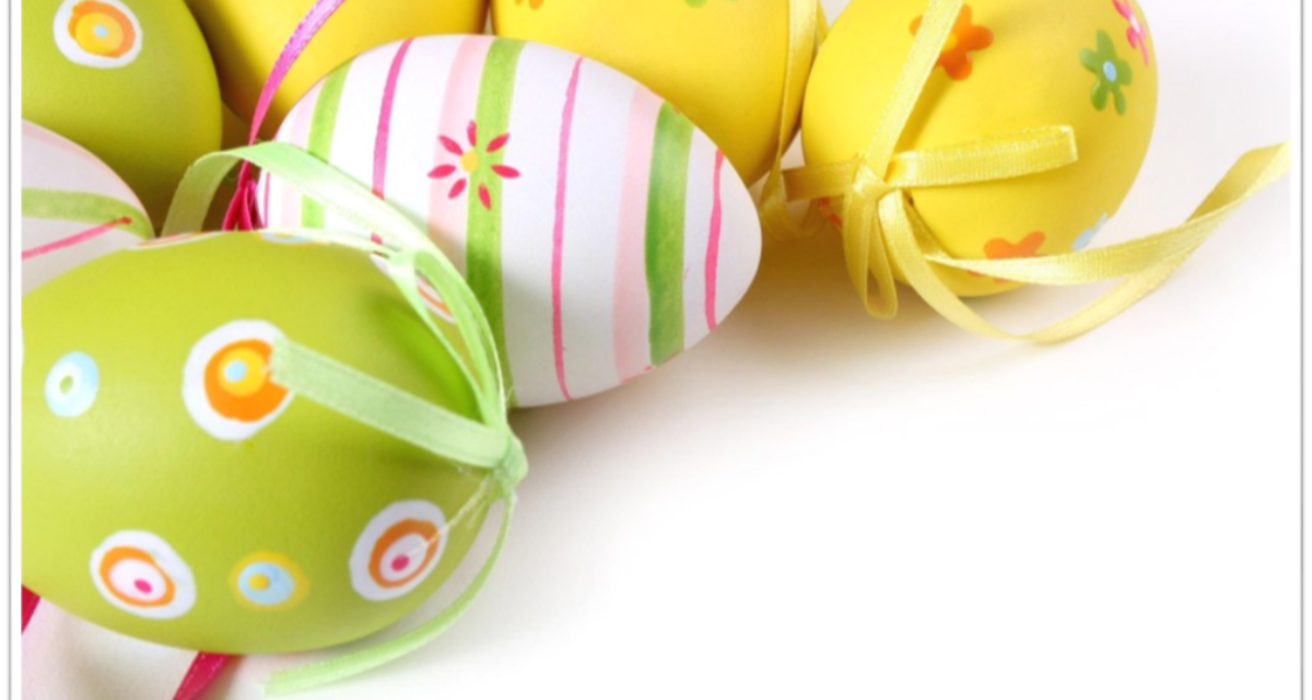 Vi ønsker alle en fin påske.